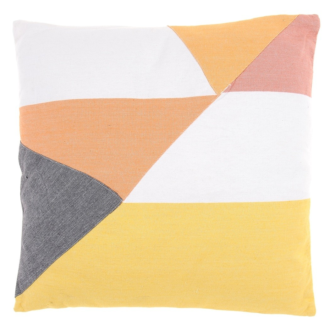Splice Collection Cushion in Multi 50 x 50cm