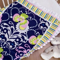 Couture Cot Blanket - Multi