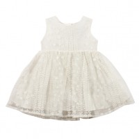 Bebe by Minihaha Special Occassions Emb'd Organza Dress
