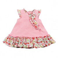 Bebe by Minihaha Alisa Jersey Dress w Bow Frill