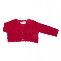 Bebe by Minihaha Emily Lollipop Crochet Knit Cardi