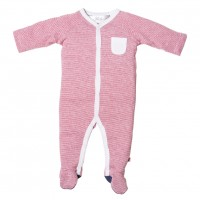 Bebe by Minihaha Joey Snap Romper W Feet