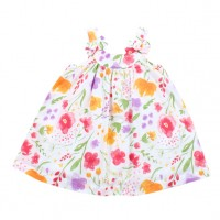 Bebe by Minihaha Violet Yoke Sundress w Bows