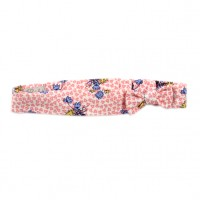 Bebe by Minihaha Willow Print Head Band w Bow
