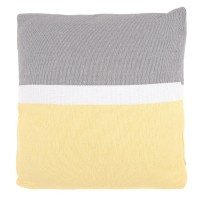 Splice Collection Cushion in Grey 50 x 50cm