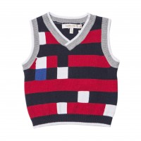 Brooklyn Colour-Blocked Vest