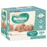 HUGGIES® Baby Wipes Fragrance Free 384pc MEGA PACK