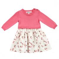 Bebe by Minihaha Sofie L/S Knit Mix Dress