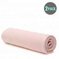 2pk Baby Stretch Wrap - Pink