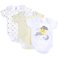 To The Moon & Back 3-Pack Onesie Set