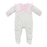 Bebe by Minihaha Erica Frill Romper w Quick Change Zip