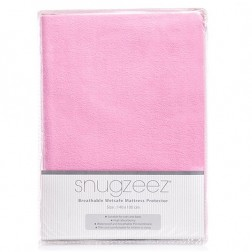 Breathable Wetsafe Mattress Protector in Pink