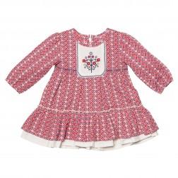 Kayla Geo Print Dress w Yoke