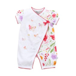 Bebe by Minihaha Violet S/S Wrap Romper
