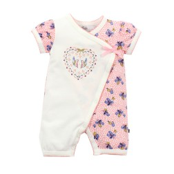 Bebe by Minihaha Willow S/S Wrap Romper