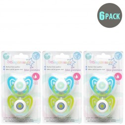 6-Pack Boys BPA Free Soothers 0m+
