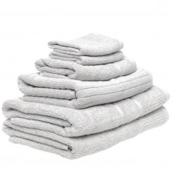 6 Piece Towel Set in Slate