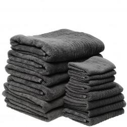 14 Piece Luxury 600GSM Towel Set in Ash
