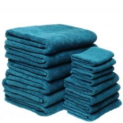 14 Piece Luxury 600GSM Towel Set in Marine