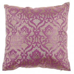 Silk Dupion Collection Cushion in Amethyst 40 x 40cm
