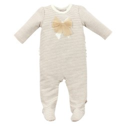 Fox & Finch Florence Gold Stripe Romper
