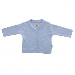 Babyushka Organic Essentials Jacket in Blue Marle