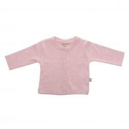 Babyushka Organic Essentials Jacket in Pink Marle