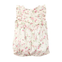 Bebe by Minihaha Liberty Pleat Detail Romper