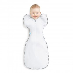 Love To Swaddle UP ORIGINAL White M - 6-8.5kg
