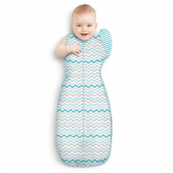 Love To Swaddle UP 50/50 Multi Zig Zag L - 8.5-11kg