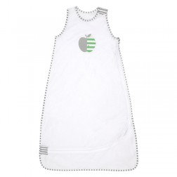 Nuzzlin™ Extra Light 0.2 TOG Sleep Bag 4-12M in White