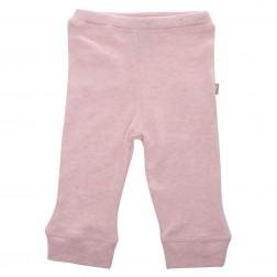 Babyushka Organic Essentials Pant in Pink Marle