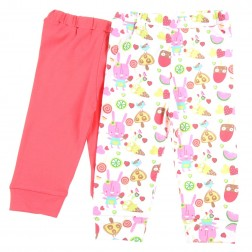 Legging Set in Pink Popsicle