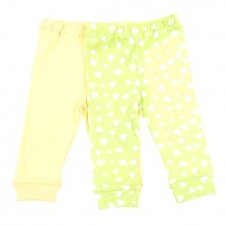 Legging Set in Green Hearts