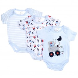 Little Digger 3-Pack Onesie Set
