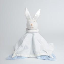 Snugzeez Muslin Comforter - Blue Star Print