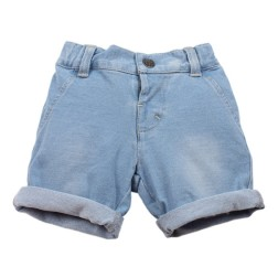 Bebe by Minihaha Hamish French Terry Denim Short