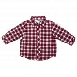 Bebe by Minihaha Drew Checked Flannel Shirt