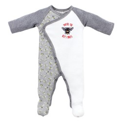 Bebe by Minihaha Riley L/S Wrap Romper w Feet