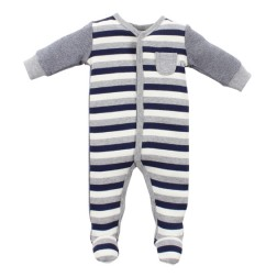 Bebe by Minihaha Riley Snap Front Romper w Feet