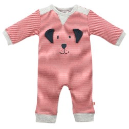 Bebe by Minihaha Max Dog Face L/S Romper