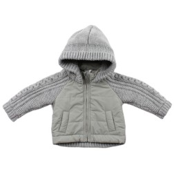 Bebe by Minihaha Max Knit Mix Jacket w Hood