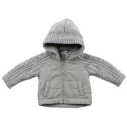 Bebe by Minihaha Max Knit Mix Jacket w Hood